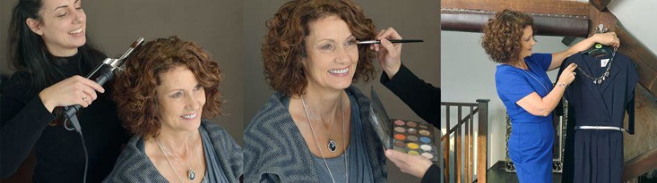 over 60s makeover photoshoot