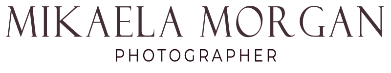 mikaela morgan photographer logo